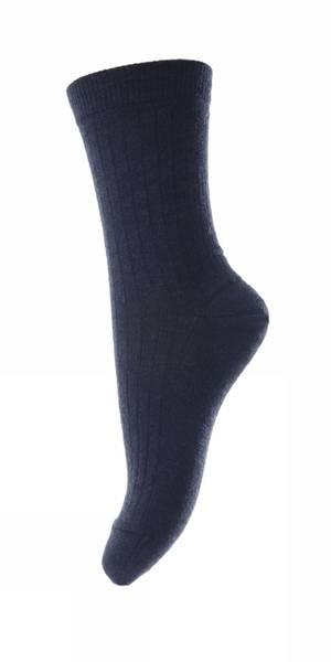 Bilde av MP - Wool Rib Socks Blue
