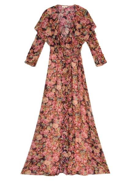 Bilde av BYTIMO - Georgette Wrap Dress