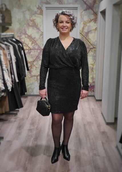Bilde av RICCOVERO - Joy Dress Black